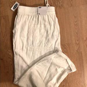 Summer Cream Pants - Old Navy XL NWT